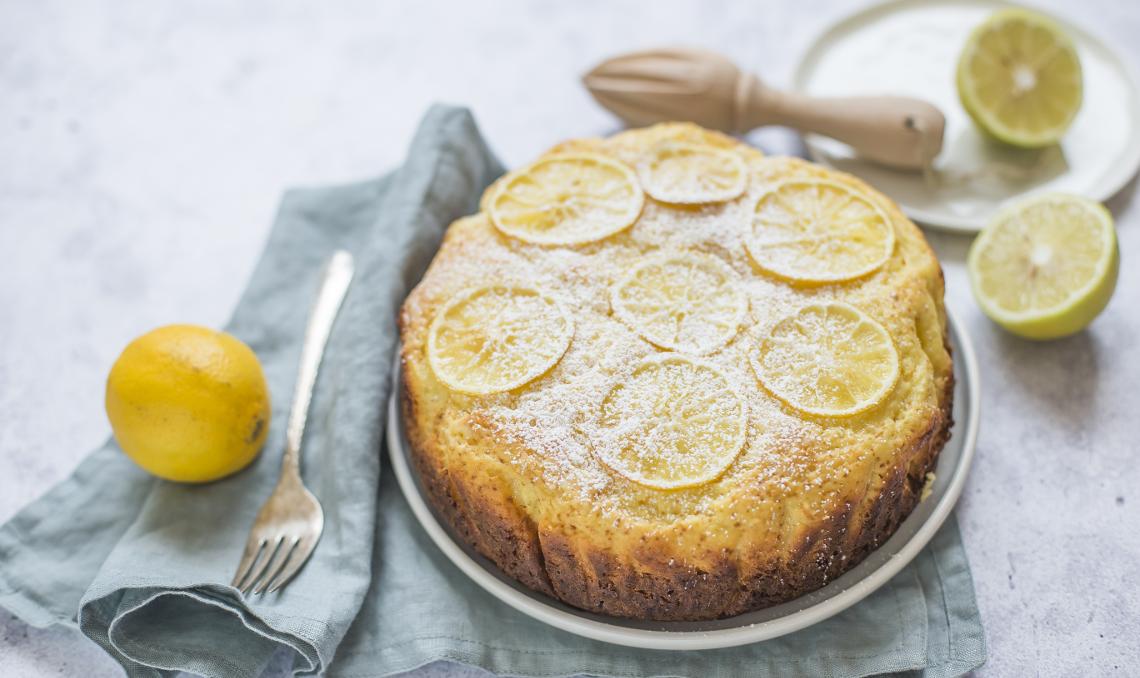 torta ricotta e limone molino rossetto
