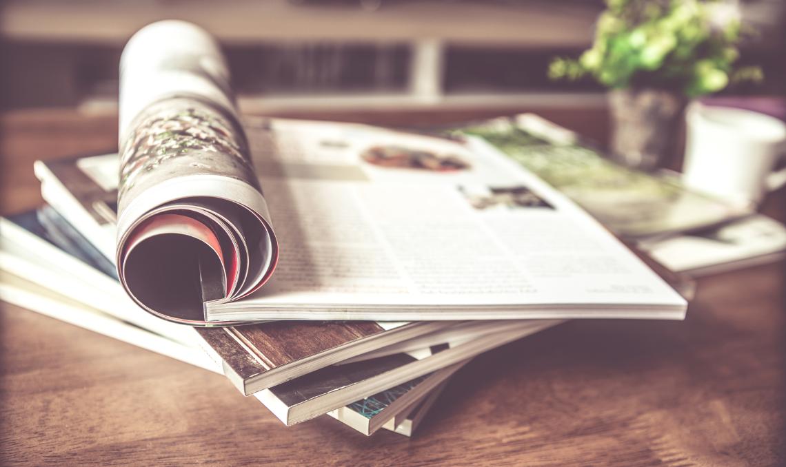Le 5 riviste di cucina da sfogliare durante le vacanze