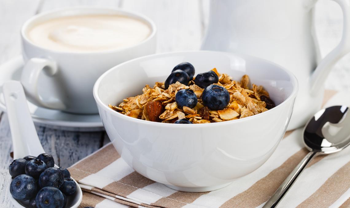 Colazione con i cereali integrali